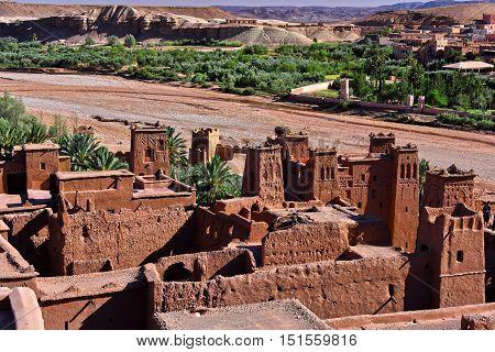 Ait Benhaddou, Ancient Fortification, Near The City Of Warzazat