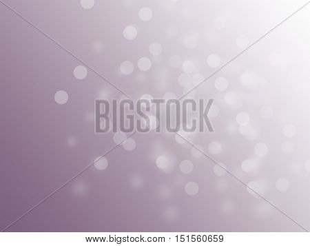 Bright pink shiny bokeh - background with whote dots