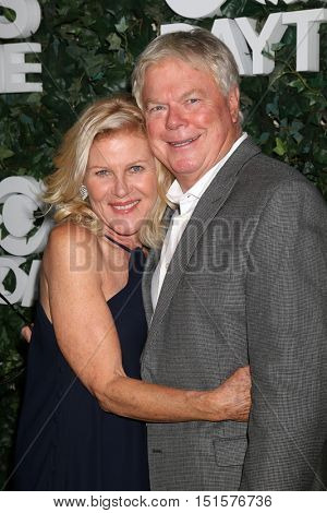 LOS ANGELES - OCT 10:  Alley Mills, Dick Christie at the CBS Daytime #1 for 30 Years Exhibit Reception at the Paley Center For Media on October 10, 2016 in Beverly Hills, CA