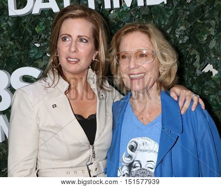 LOS ANGELES - OCT 10:  Martha Byrne, Elizabeth Hubbard at the CBS Daytime #1 for 30 Years Exhibit Reception at the Paley Center For Media on October 10, 2016 in Beverly Hills, CA