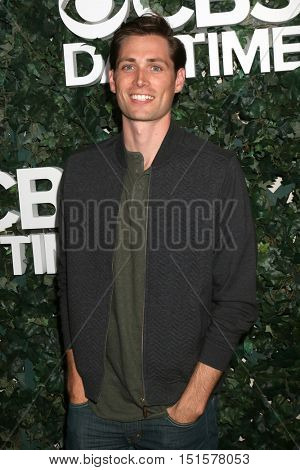 LOS ANGELES - OCT 10:  Zack Conroy at the CBS Daytime #1 for 30 Years Exhibit Reception at the Paley Center For Media on October 10, 2016 in Beverly Hills, CA