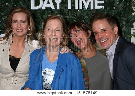 LOS ANGELES - OCT 10:  Martha Byrne, Elizabeth Hubbard, Colleen Zenk, Christain LeBlanc at the CBS Daytime #1 for 30 Years Event at the Paley Center For Media on October 10, 2016 in Beverly Hills, CA