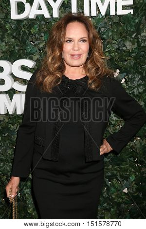 LOS ANGELES - OCT 10:  Catherine Bach at the CBS Daytime #1 for 30 Years Exhibit Reception at the Paley Center For Media on October 10, 2016 in Beverly Hills, CA