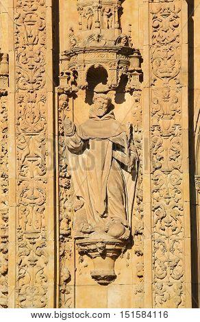 Convento De San Esteban In Salamanca - Catholic Saint