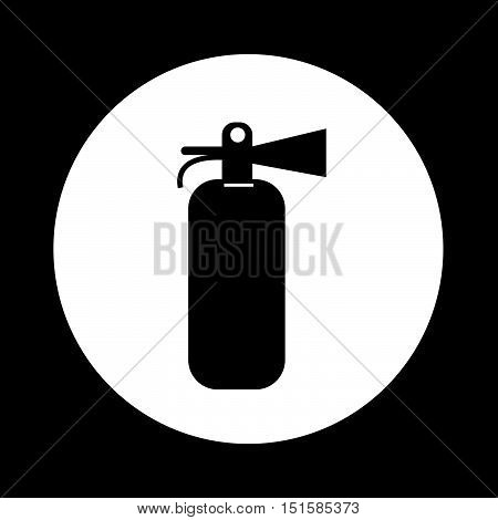 an images of Fire Extinguisher Icon Illustration design