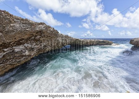 Rocks of Boka Tabla, Shete Boka National Park, Curacao