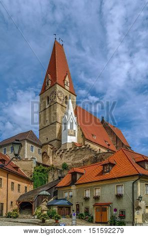 Parish church of Weissenkirchen in der Wachau Austria