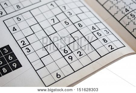 crossword sudoku - popular puzzle game with numbers