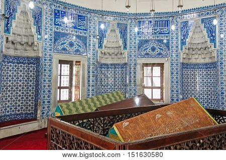 Tombs Of The Sultans. Istambul, Turkey