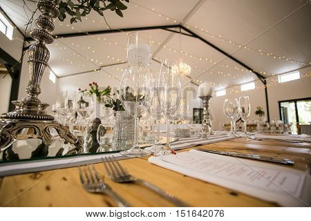 Stunning Wedding Decor At A Stylish Wedding Venue In South Africa