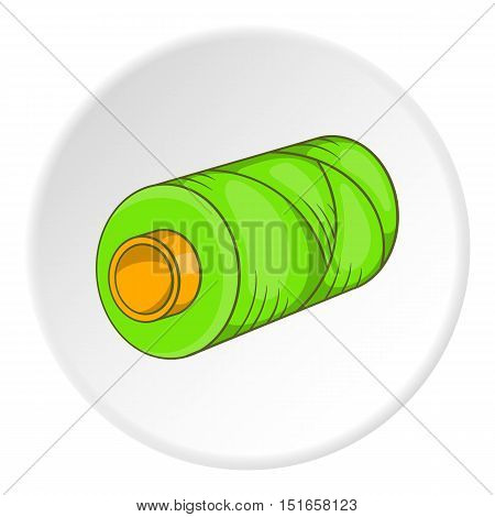 Spool icon. Flat illustration of spool vector icon for web