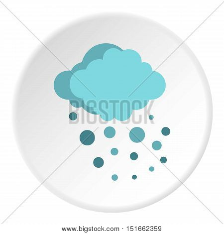 Hail icon. Flat illustration of hail vector icon for web