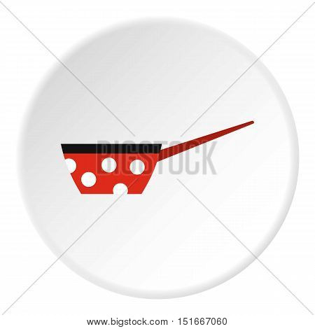 Saucepan icon. Flat illustration of saucepan vector icon for web