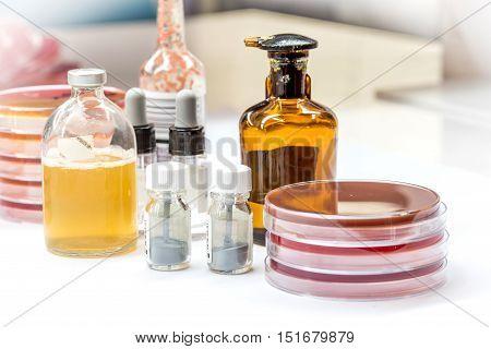 Reagent For Biochem Tests For Identifield Pathogen.