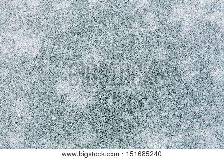 Net Pattern Of Cracks On The Blue Ice Of Lake Baikal