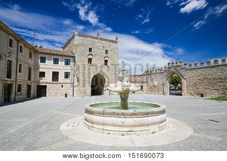 Las Huelgas Abbey Near Burgos In Spain
