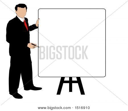 Man Sales Meeting.Eps