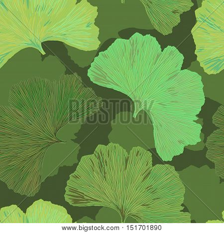 Ginkgo Biloba Leaf Tablecloth