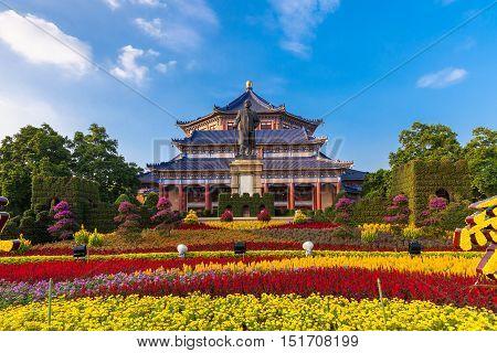 Sun Yat-Sen memorial hall in Guangzhou China