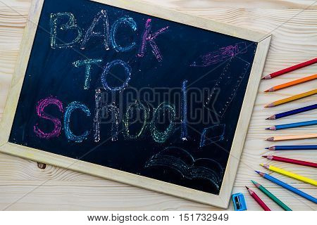Blackboard With The Inscription