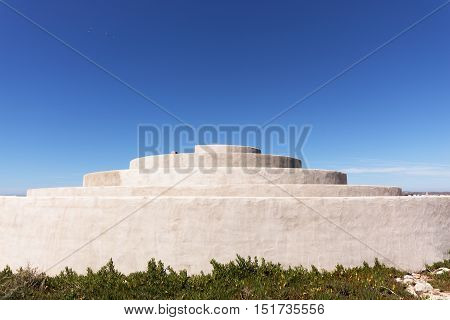 Chamber of Sound at Fortaleza de Sagres, Algarve Monuments