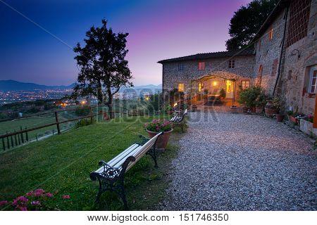 Valgiano, Lucca - Tuscany, Italy