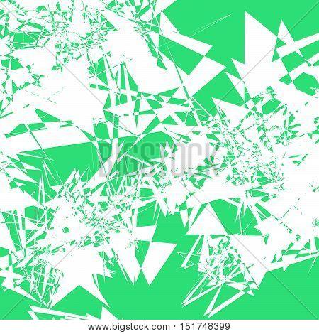 Random Irregular Texture. Rough, Edgy Geometric Texture W/ Bright Color