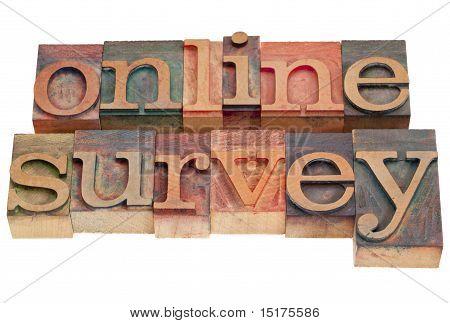 Online Survey - Letterpress Type