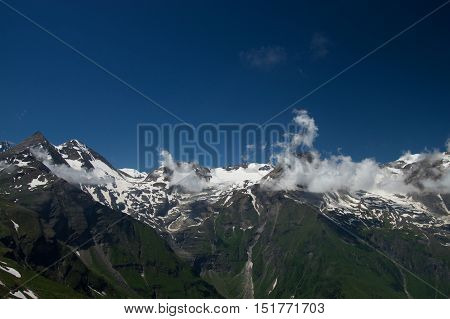 Landscape At The Grossglockner High Alpine Road, Austria