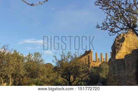 Valley of the Temples of Agrigento Italy