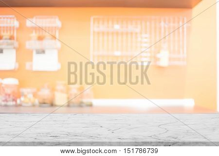 Blur Kitchen Room of The Background (Kitchen foom for use background) , Blurred image of modern kitchen interior for background