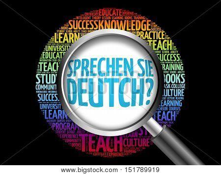 Sprechen Sie Deutch? (do You Speak German?)