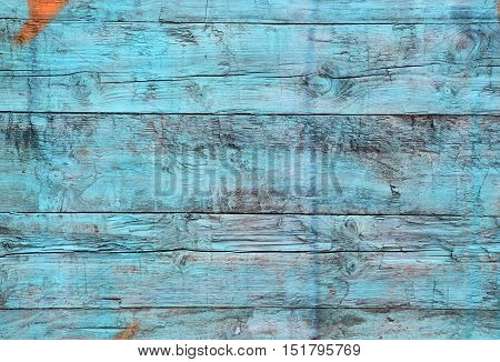 Old wooden plank with paint on it