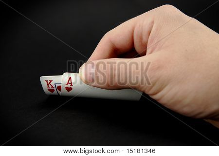 Ace And King Of Hearts