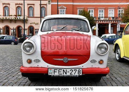 Trabant Vintage Car From Eastern Germany