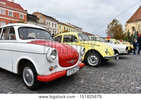 Vintage Cars Exhibited