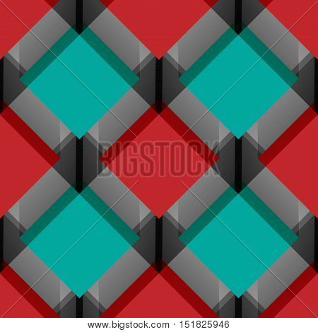 Vector seamless geometric background. Pattern for design, brochures. Eps10