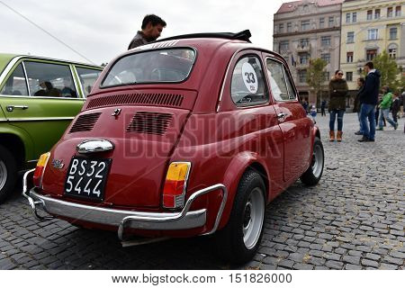 Fiat Vintage Car From Italy