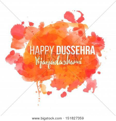 Ornament card with of Maa Durga. Illustration of Happy Navratri. Happy Maha Shivaratri happy dussehra
