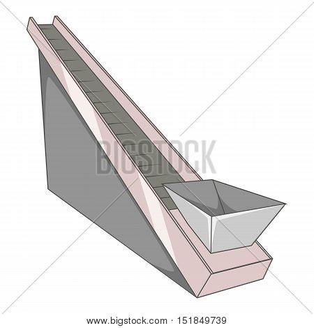 Elevator icon. Cartoon illustration of elevator vector icon for web