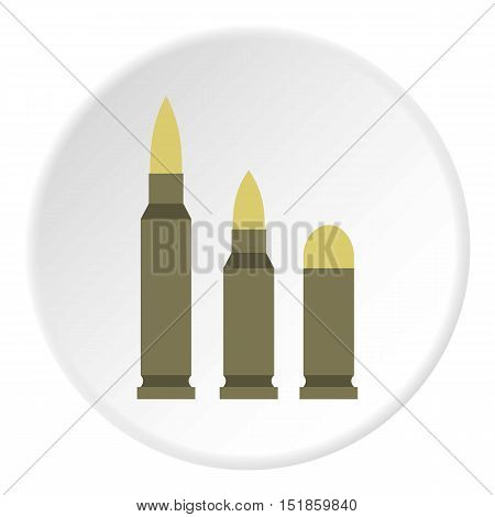 Bullets icon. Flat illustration of bullets vector icon for web design