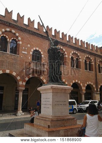 War Memorial In Verona