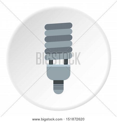 CFL light icon. Flat illustration of CFL light vector icon for web