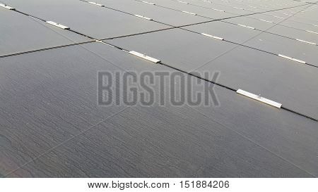 Dirty Dusty Photovoltaic PV Panels Solar farm