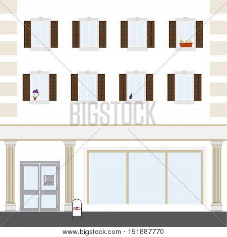 Coffee Shop Building