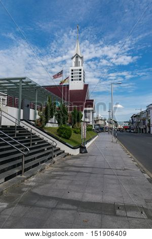Christian Churches Of The Sibu City