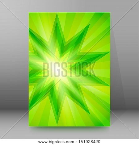Background Report Brochure Cover Pages A4 Style Abstract Glow28