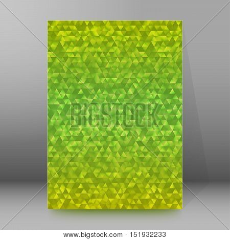 Background Report Brochure Cover Pages A4 Style Abstract Glow44