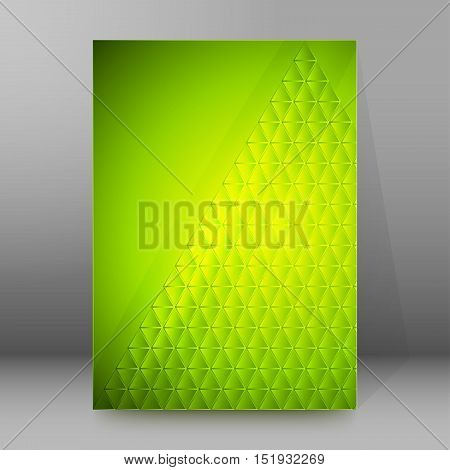 Background Report Brochure Cover Pages A4 Style Abstract Glow45
