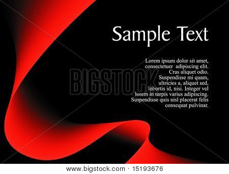 elegant abstract black background for your text